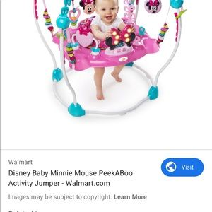 Mini mouse exersaucer